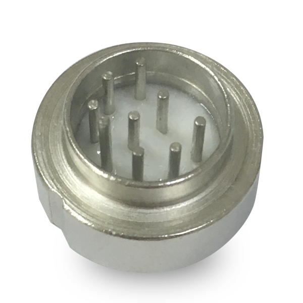 8 pins Glass Connector