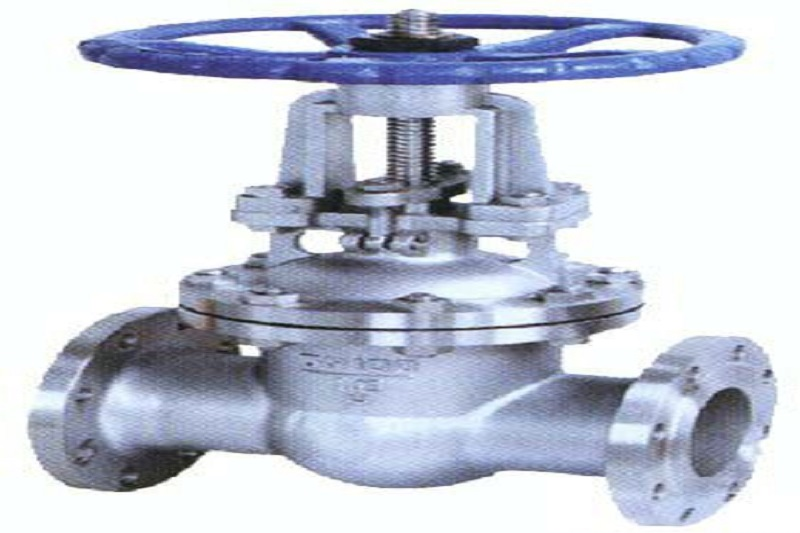 What is the main purpose of using the gate valve?